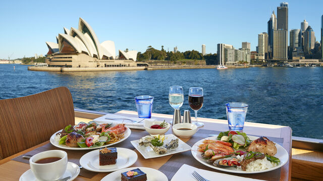 Sydney Harbour Buffet Lunch