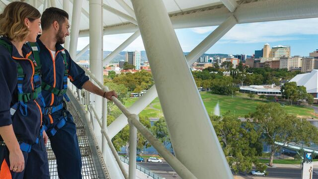 RoofClimb Adelaide Oval