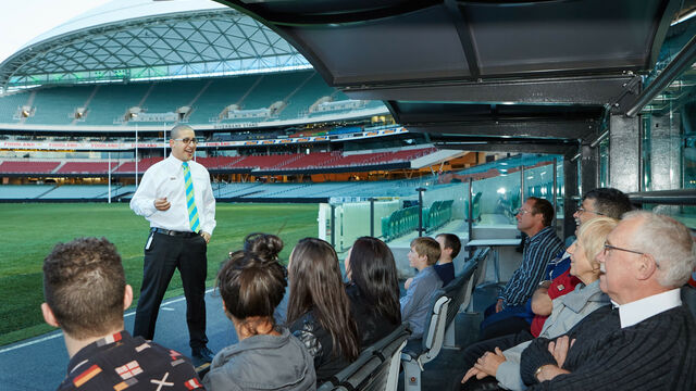 Adelaide Oval Tour