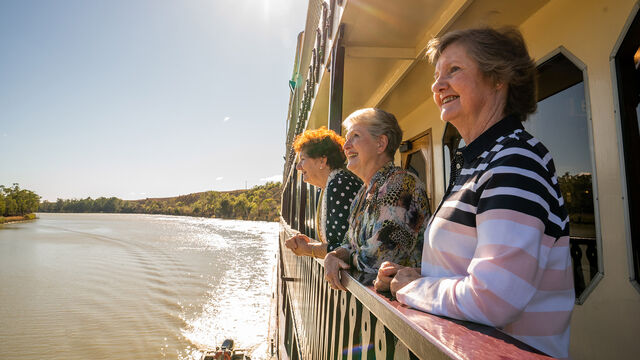 Murray Princess 7 Night Murraylands & Wildlife Cruise - Friday Departures (Outside Cabin)